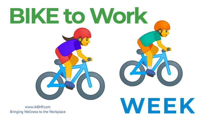 National Bike to Work Week