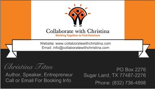 Collaborate With Christina