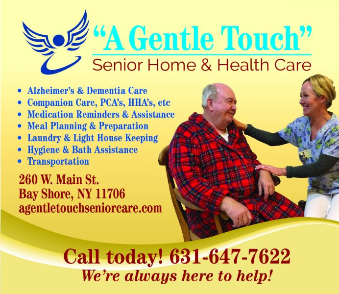 """ A Gentle Touch "" Senior Home & health care"
