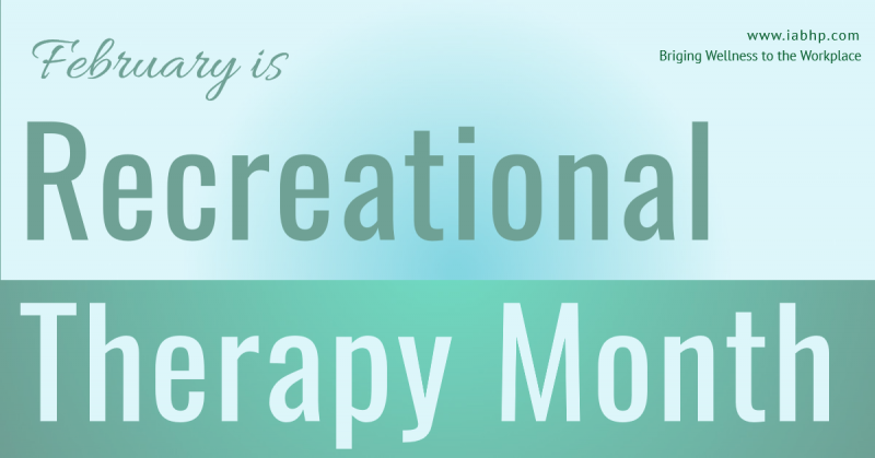 Recreational Therapy Month