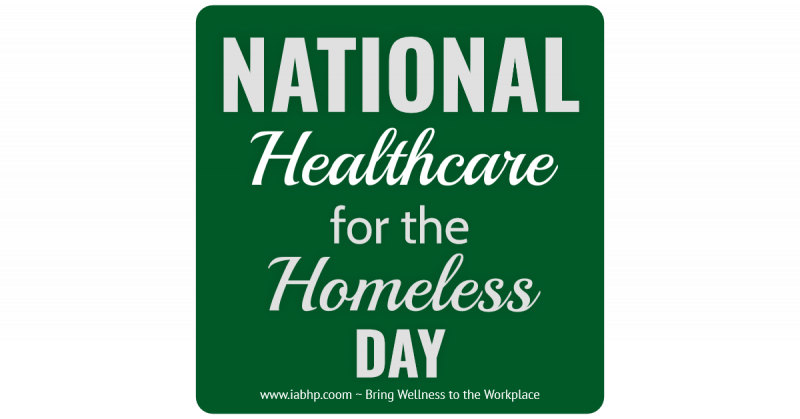 Healthcare for the Homeless Day