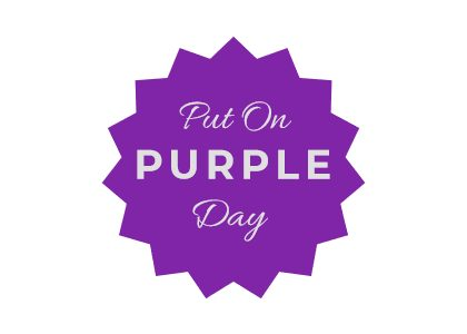 PUT ON PURPLE DAY