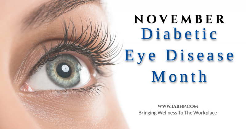 Diabetic Eye Disease Month