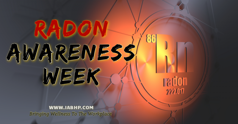 Radon Awareness Week